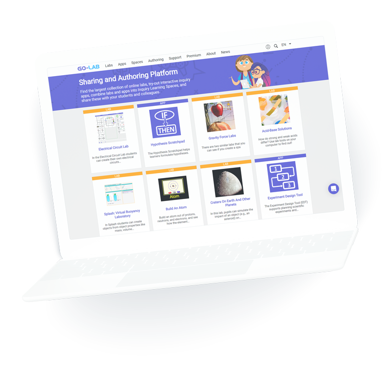 Nutzen Sie gratis Online-Labore für Schüler