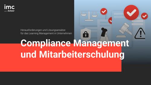 Compliance Management und Mitarbeiterschulung