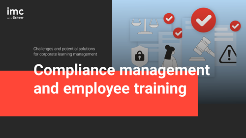 Compliance management and employee training